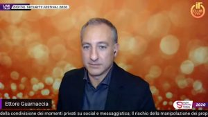 Intervento in diretta al Digital Security Festival 2020 di ITClub FVG