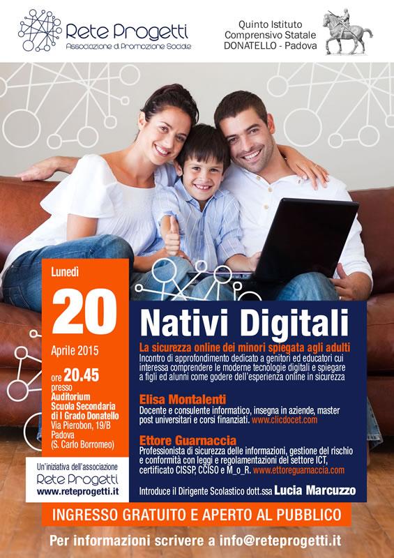 Locandina Evento Nativi Digitali 2015