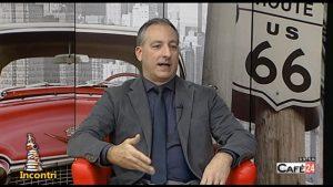 """Presentazione libro """"La tragedia silenziosa"""" su CafèTV24 nella rubrica """"Incontri"""" parte 2"""
