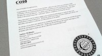 Congratulations on the renewal of your C|CISO! Affixed to this letter you will find a small metal plate with an engraved date (9/19/2015) indicating your new expiration date. Con questa comunicazione, l'istituto EC-Council di Albuquerque […]