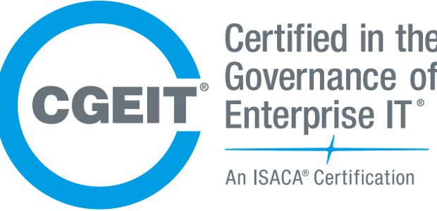 Se questo articolo ti è piaciuto, condividilo!Congratulations! ISACA's CGEIT Certification Working Group is pleased to inform you that on 29 September 2016 you have been granted certification as Certified in the Governance of Enterprise IT […]
