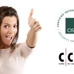 Ottenuto il rinnovo delle certificazioni professionali CISSP e CCISO