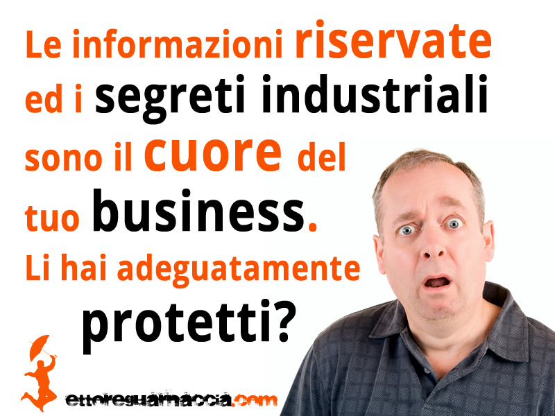 Le informazioni riservate ed i segreti industriali sono il cuore del tuo business. Li hai adeguatamente protetti? Ricorda che la distruzione, la sottrazione o la divulgazione non autorizzata delle informazioni aziendali riservate e dei segreti […]