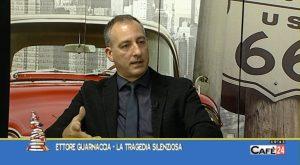 """Presentazione libro """"La tragedia silenziosa"""" su CafèTV24 nella rubrica """"Incontri"""" parte 1"""
