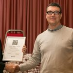 """Ricevuto premio Clusit """"Cultura, innovazione tecnologica e sicurezza informatica"""""""